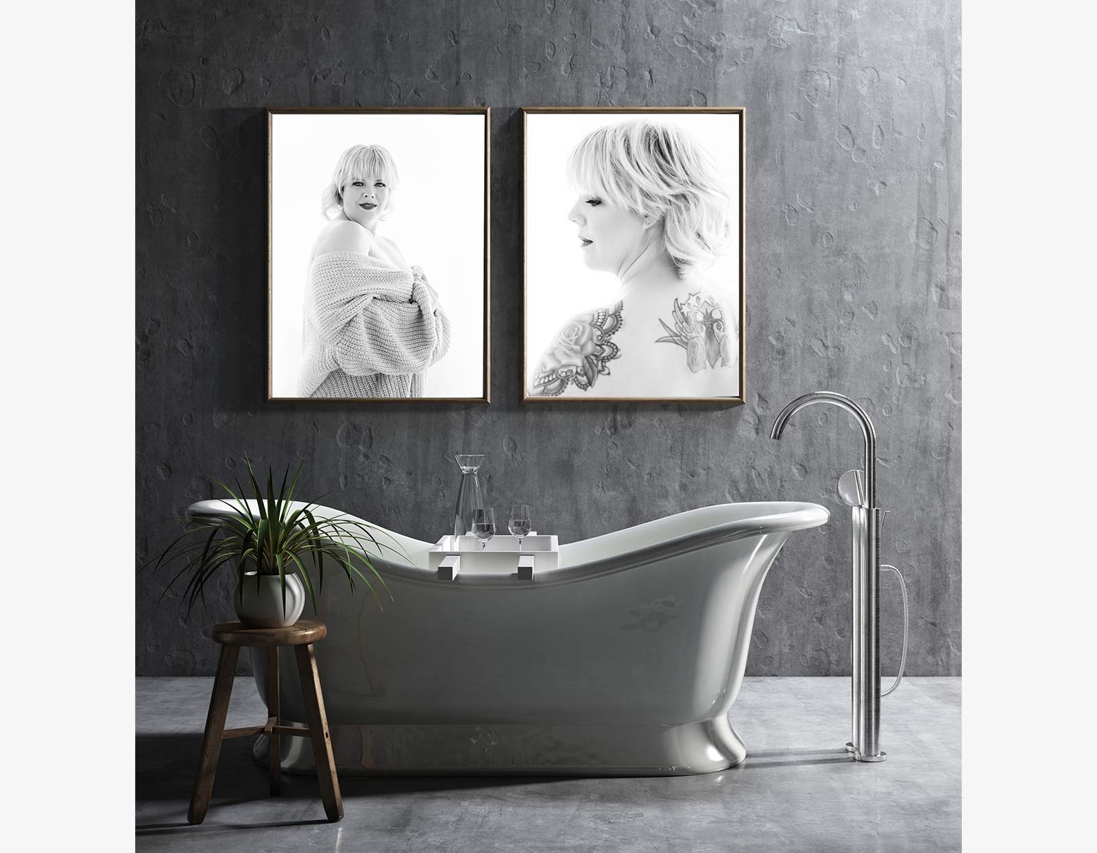 Wall art - bathroom