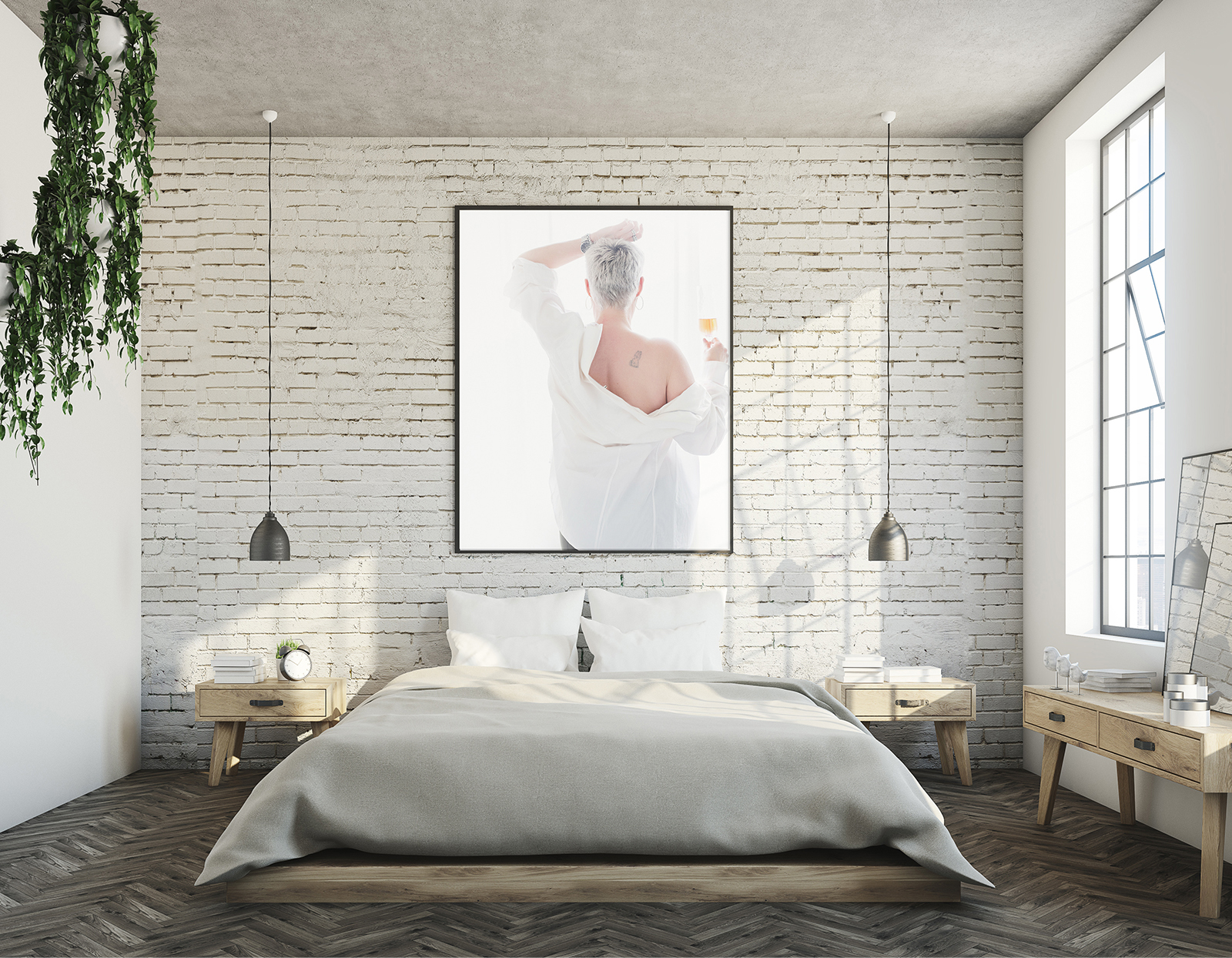 wall art bedroom boudoir