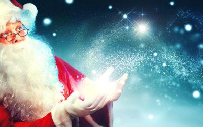 De kerstman komt in Oktober naar de studio!