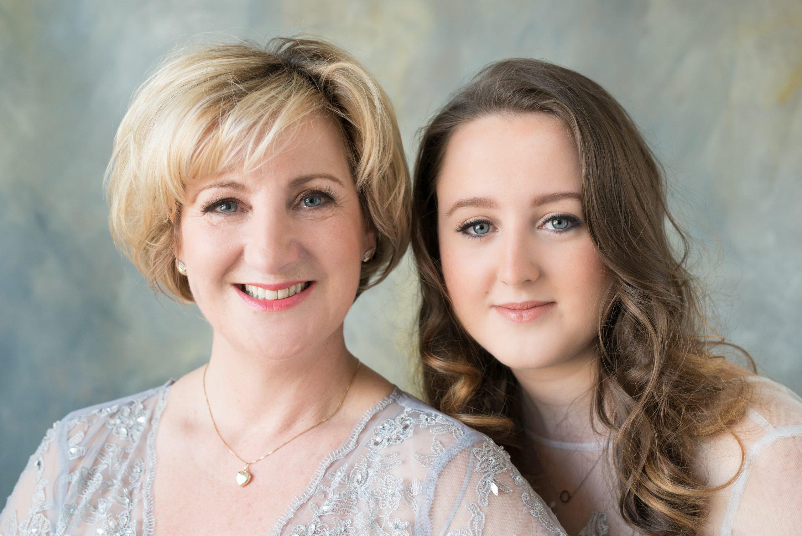 Family Portraits moeder en dochter familie fotoshoot